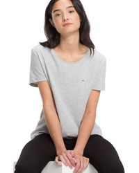 Tommy Hilfiger T-shirt Tjw Original Soft Jersey Tee - Grijs