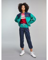 Tommy Hilfiger Relaxed Fit jogger Met Colour-blocking - Blauw