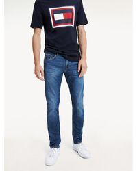 Tommy Hilfiger Bleecker Slim Fit Jeans Met Stretch - Blauw