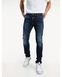 Tommy Hilfiger Scanton Slim Fit Jeans Met Powerstretch - Blauw