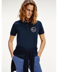 Tommy Hilfiger - Nautical Logo Regular Fit Polo - Lyst