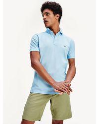 Tommy Hilfiger - Logo Cotton Pique Regular Fit Polo - Lyst