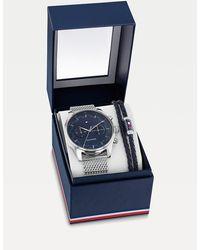 Tommy Hilfiger Cadeauset Met Horloge En Armband - Metallic