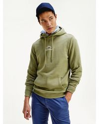 Tommy Hilfiger Basic Embroidered Hoody Sweat-Shirt - Vert