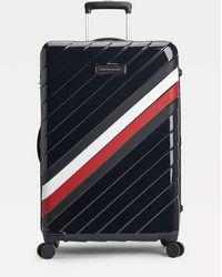 Tommy Hilfiger Signature 75cm Wheelie Case - Blue