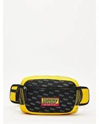 Tommy Hilfiger Tech Net Crossbodytas - Zwart
