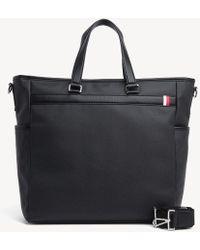 Tommy Hilfiger Medium Tote Bag - Black