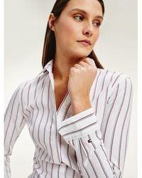 Tommy Hilfiger - Stripe Regular Fit Shirt - Lyst