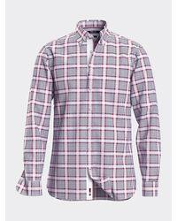 Tommy Hilfiger Th Flex Overhemd Met Ruit - Blauw