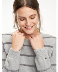 Tommy Hilfiger - Organic Cotton Stripe Jumper - Lyst