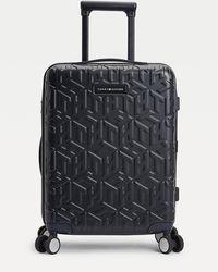 Tommy Hilfiger Lightweight Monogram 55cm Wheelie Case - Blue