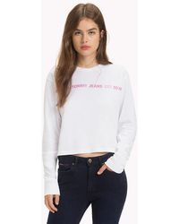 Tommy Hilfiger - Long Sleeve Repeat Logo T-shirt - Lyst