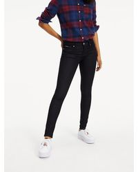 Tommy Hilfiger - Jeans Mid Rise Skinny Nora Nrst - Lyst