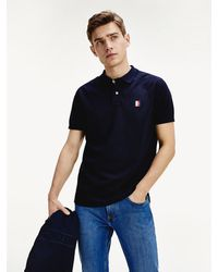 Tommy Hilfiger - Icons Monogram Patch Polo - Lyst