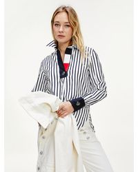 Tommy Hilfiger Tommy Icons Relaxed Fit Overhemd - Wit