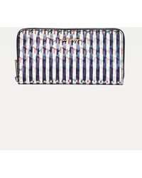Tommy Hilfiger - Iconic Holographic Monogram Large Wallet - Lyst