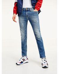 Tommy Hilfiger - Scanton Slim Fit Jeans Met Faded Vlag - Lyst