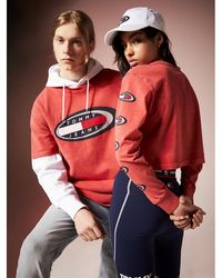 Tommy Hilfiger Tommy Jeans Summer Heritage Cropped Sweatshirt - Rood