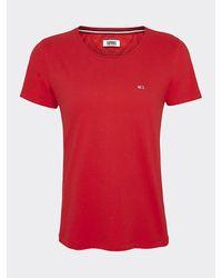 Tommy Hilfiger - Slim Fit Organic Cotton T-shirt - Lyst