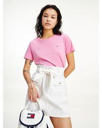Tommy Hilfiger Soft Jersey T-shirt - Pink