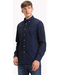 c9ec1317b7ec74 Tommy Hilfiger Check Slim Fit Shirt for Men - Lyst