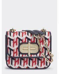Tommy Hilfiger Womens Soft Turnlock Sml W Flap Cross-Body Bag