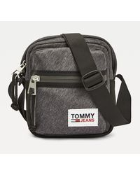 Tommy Hilfiger Tommy Jeans Tech Reportertas - Zwart