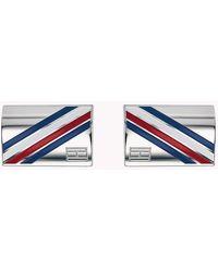Tommy Hilfiger Logo Cufflinks - Grey