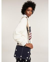 Tommy Hilfiger Denim Crossbodytas - Blauw