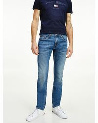 Tommy Hilfiger Bleecker Tapered Jeans - Blauw