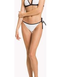 Tommy Hilfiger - String Side Tie Bikini Bottoms - Lyst
