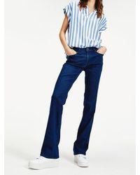 Tommy Hilfiger Maddie Bootcut Jeans - Blauw