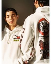 Tommy Hilfiger Tommy Jeans X Zome Studio Hoodie - Wit