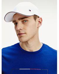 Tommy Hilfiger Elevated Cap mit Branding - Weiß