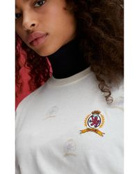 Tommy Hilfiger - Crest Embroidery T-shirt - Lyst