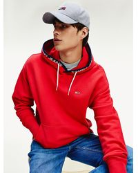 Tommy Hilfiger - Flag Patch Organic Cotton Hoody - Lyst