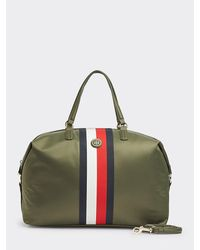 Tommy Hilfiger Signature Tape Weekend Bag - Green
