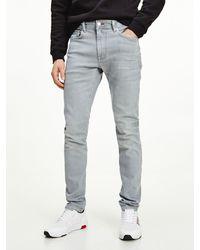 Tommy Hilfiger Layton Th Flex Extra Slim Jeans - Blauw