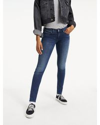 Tommy Hilfiger Jeans Low Rise Skinny Sophie Nmst - Blauw