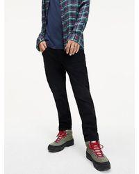 Tommy Hilfiger Slim Fit Jeans mit Dark-Wash - Blau
