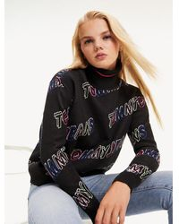 Tommy Hilfiger - Tjw Outline Print Sweater - Lyst