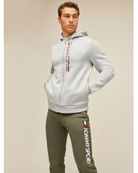 Tommy Hilfiger - Zip-thru Fleece Hoody - Lyst