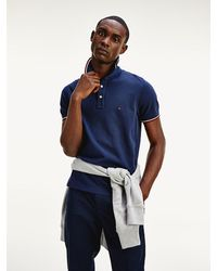 Tommy Hilfiger - Organic Cotton Slim Fit Polo - Lyst