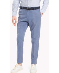 Tommy Hilfiger - Tailored Slim Fit Trousers - Lyst