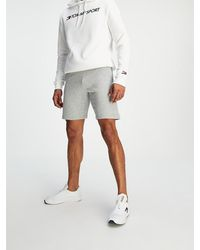Tommy Hilfiger - Fleece Logo Shorts - Lyst