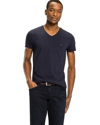 Tommy Hilfiger - Slim Fit Cotton T-shirt - Lyst