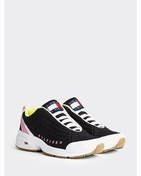 Tommy Hilfiger Heritage Colour-blocked Sneaker - Zwart