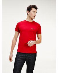 Tommy Hilfiger Mercedes-benz T-shirt Van Biologisch Katoen - Rood