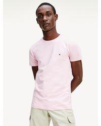 Tommy Hilfiger - Organic Cotton Stretch Slim Fit T-shirt - Lyst