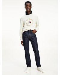 Tommy Hilfiger Denton Straight Jeans - Blauw